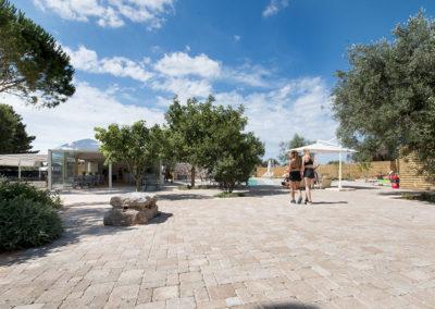 Hotel Garden spazio esterno ospiti