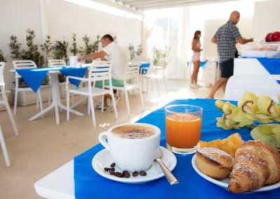Hotel Beach Sala colazioni