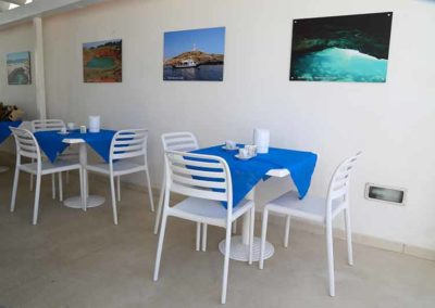 Hotel Beach - area colazioni