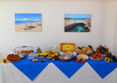 Hotel Beach - piccolo buffet colazioni