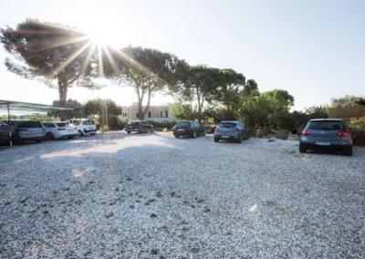Hotel Garden parcheggio