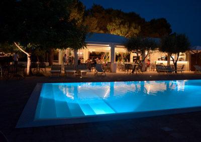 Hotel Garden piscina di sera