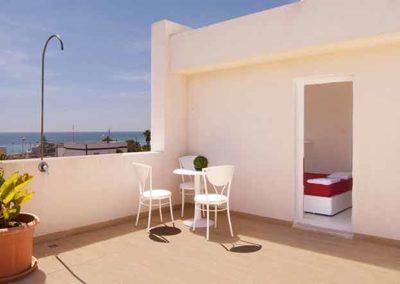 Hotel Beach - terrazzo vista mare