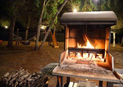 Hotel Garden - area barbecue