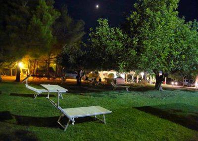 Hotel Garden - giardino di sera