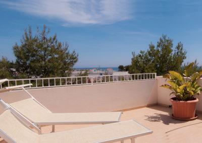 Hotel Beach camera quadrupla con terrazzino