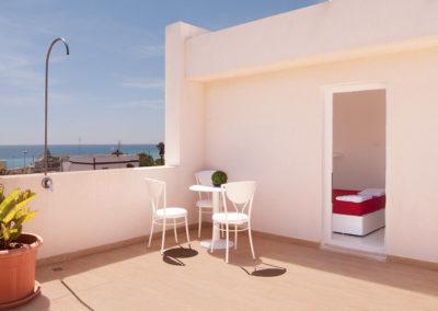 Hotel Beach camera con terrazzino
